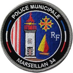 ÉCUSSON POLICE MUNICIPALE MARSEILLAN
