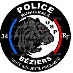POLICE MUNICIPALE BÉZIERS USP