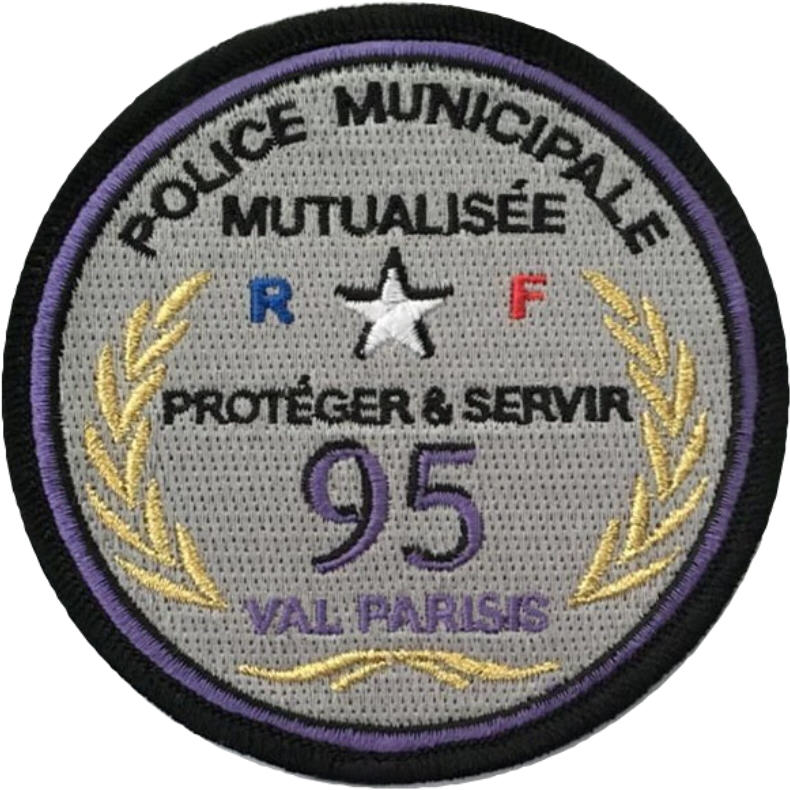 ÉCUSSON POLICE MUNICIPALE INTERCOMMUNALE VAL PARISIS