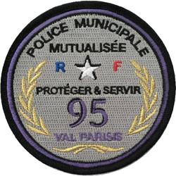 ÉCUSSON POLICE MUNICIPALE INTERCOMMUNALE VAL PARISIS