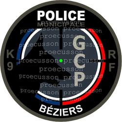 POLICE MUNICIPALE BÉZIERS GCP K9