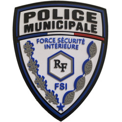 ÉCUSSON POLICE MUNICIPALE FSI