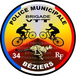 POLICE MUNICIPALE BÉZIERS VTT