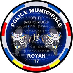 POLICE MUNICIPALE ROYAN UNITÉ MOTORISÉE