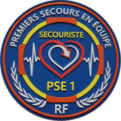 ÉCUSSON SECOURISTE PSE1