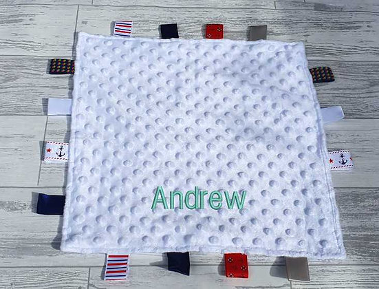 Personalised Taggy Comforter