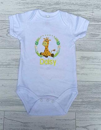 Cute Wild Animal Baby Vest