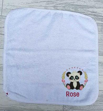 Cute Wild Animal Wash Cloth