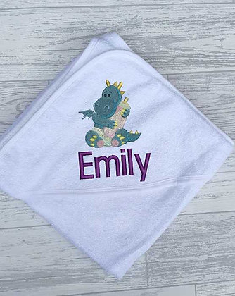 Baby Dinosaur Towel
