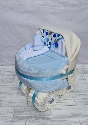 Nappy Pram - Blue