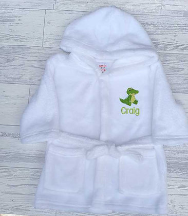 Cute Wild Animal Dressing Gown
