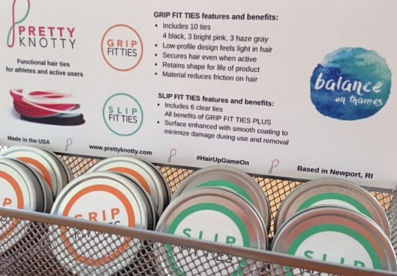 GRIP FIT TIES and SLIP FIT TIES are available