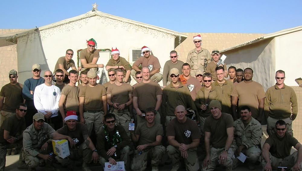 Rivron 1, Det 3 - Iraq, Christmas 2008