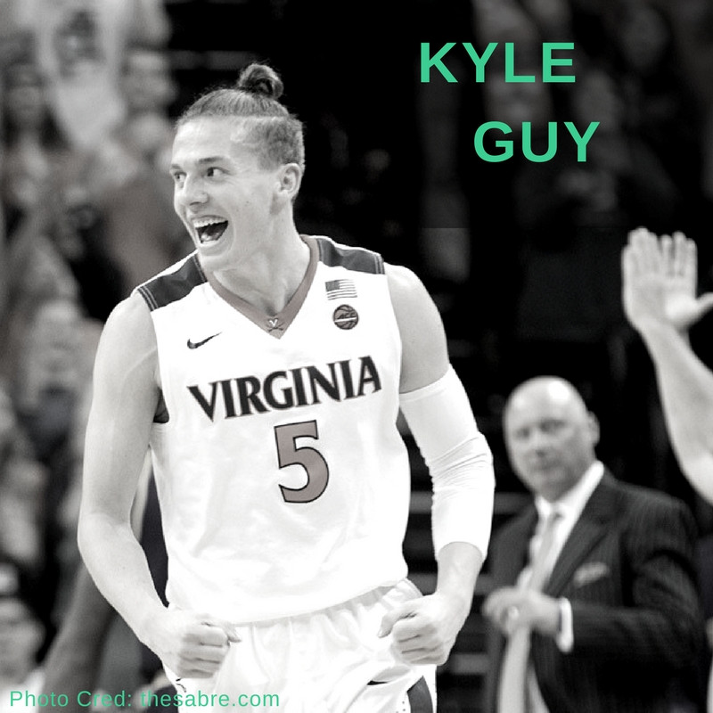 Kyle Guy UVA Top Knot