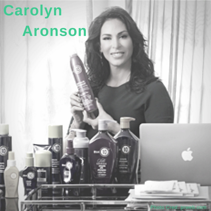 Carolyn Aronson with It's A 10 product line