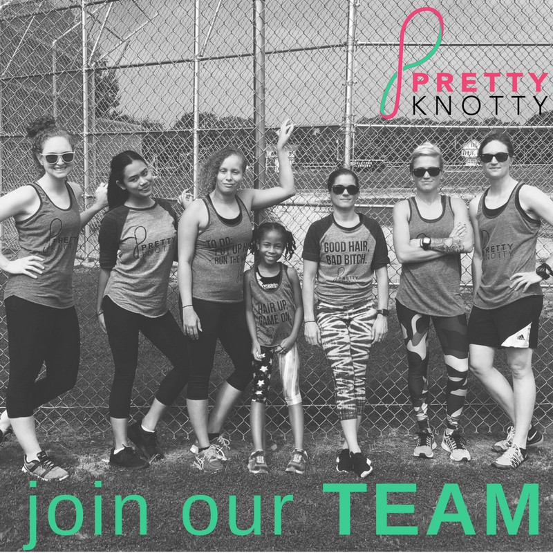 Pretty Knotty Team - Come work with us!