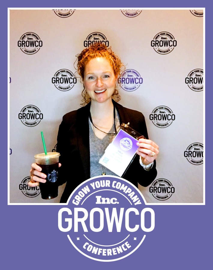 Shelly Nicholas at Inc Magazine's GROWCO Conference as part of Inc's Military Entrepreneurs Progra