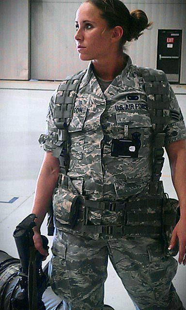 Airman in USAF Courtesy of military.com