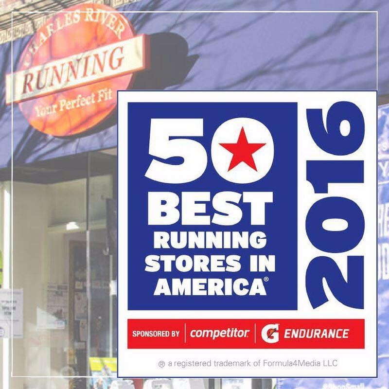Charles River Running - 1 of 50 Best Running Stores in America