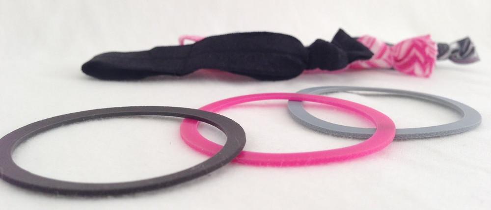 FIT TIES vs. Ribbon Hair Ties