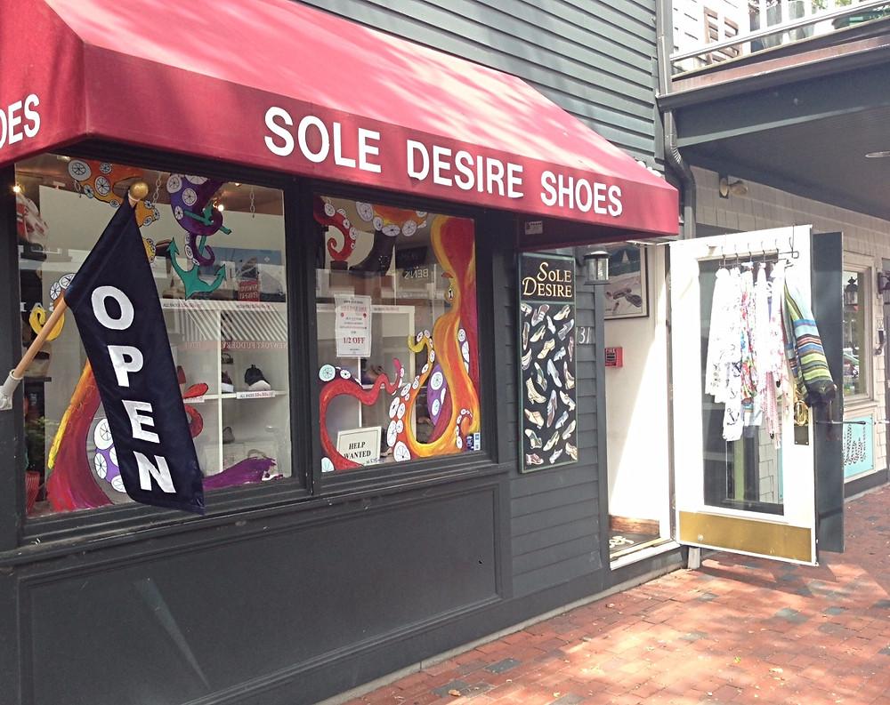 Sole Desire on Swinburne Row