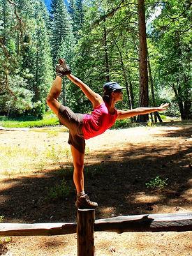 Dancer Pose at Yosemite