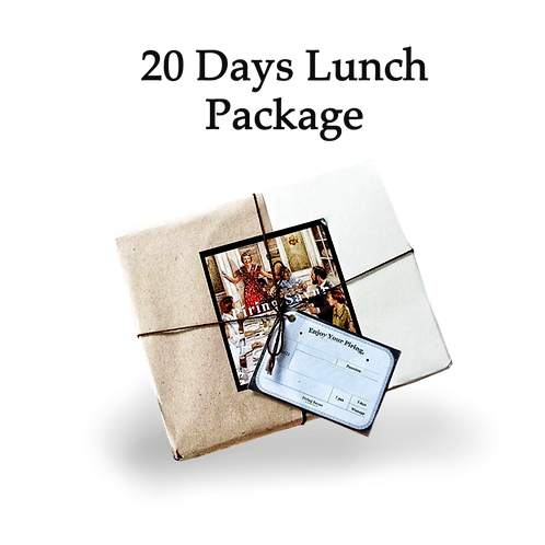 20 Day Lunch Package
