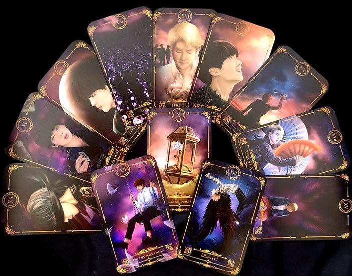 Limited Edition BTS Tarot Card Set A