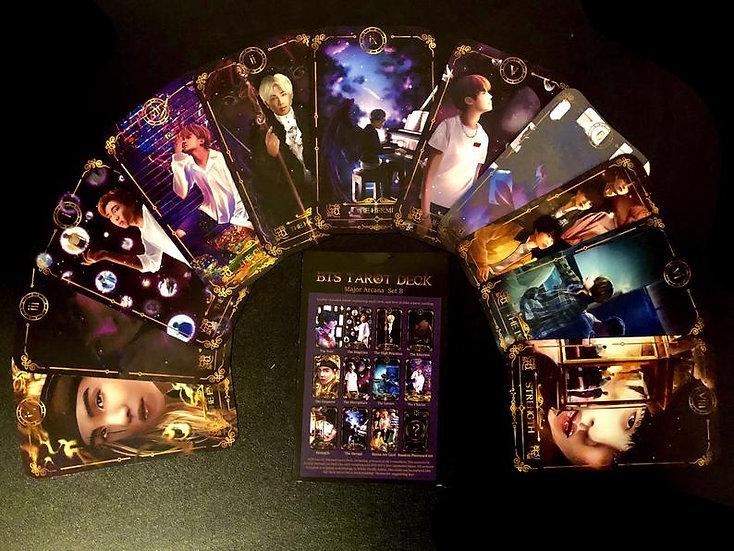 Limited Edition BTS Tarot Card Set B