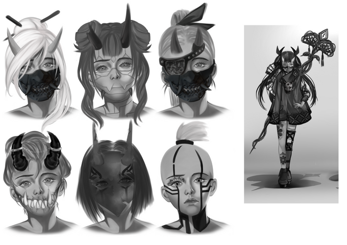 Face concept research