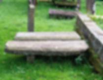 Helen and Adam graves Kirkconnel Churchy
