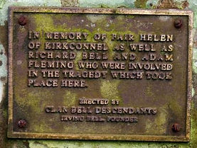Fair Helen Kirkconnel Plaque.JPG