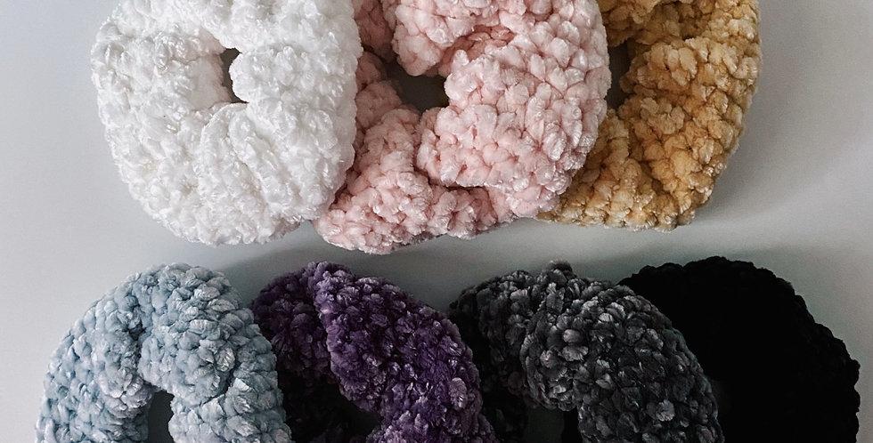 Chunky Velvet Scrunchie