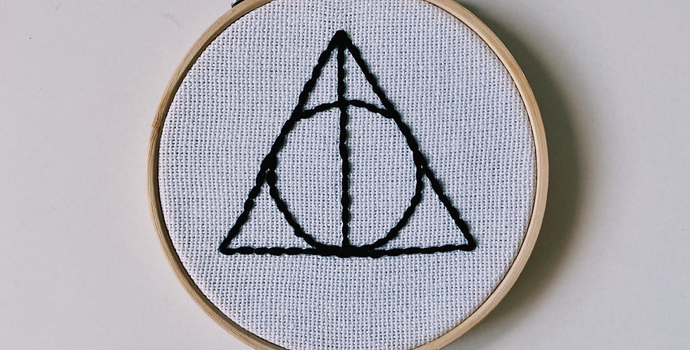 Deathly Hallows Hoop