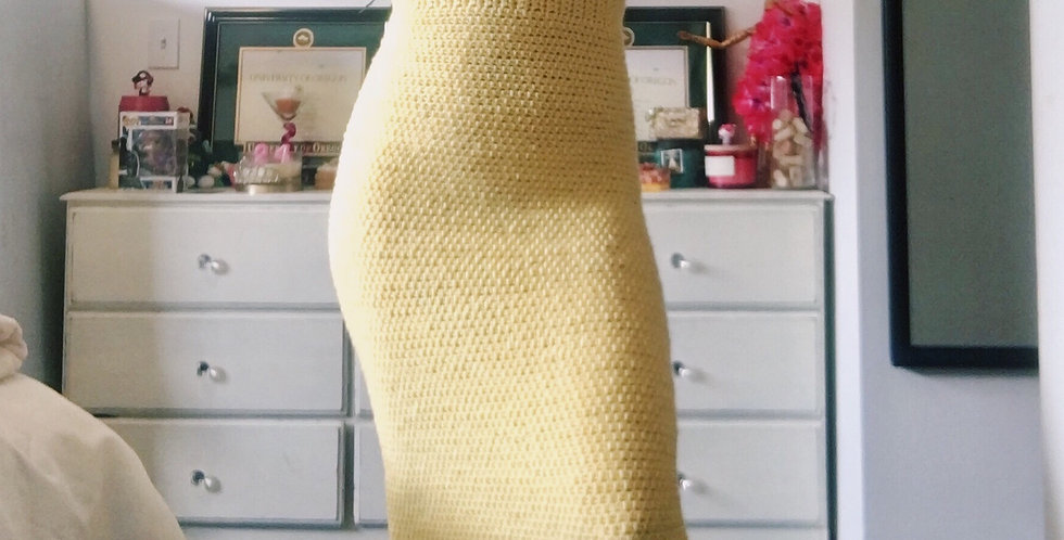Small Lemon Classic Sundress