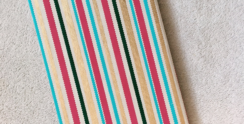 Bright Vertical Stripes Journal