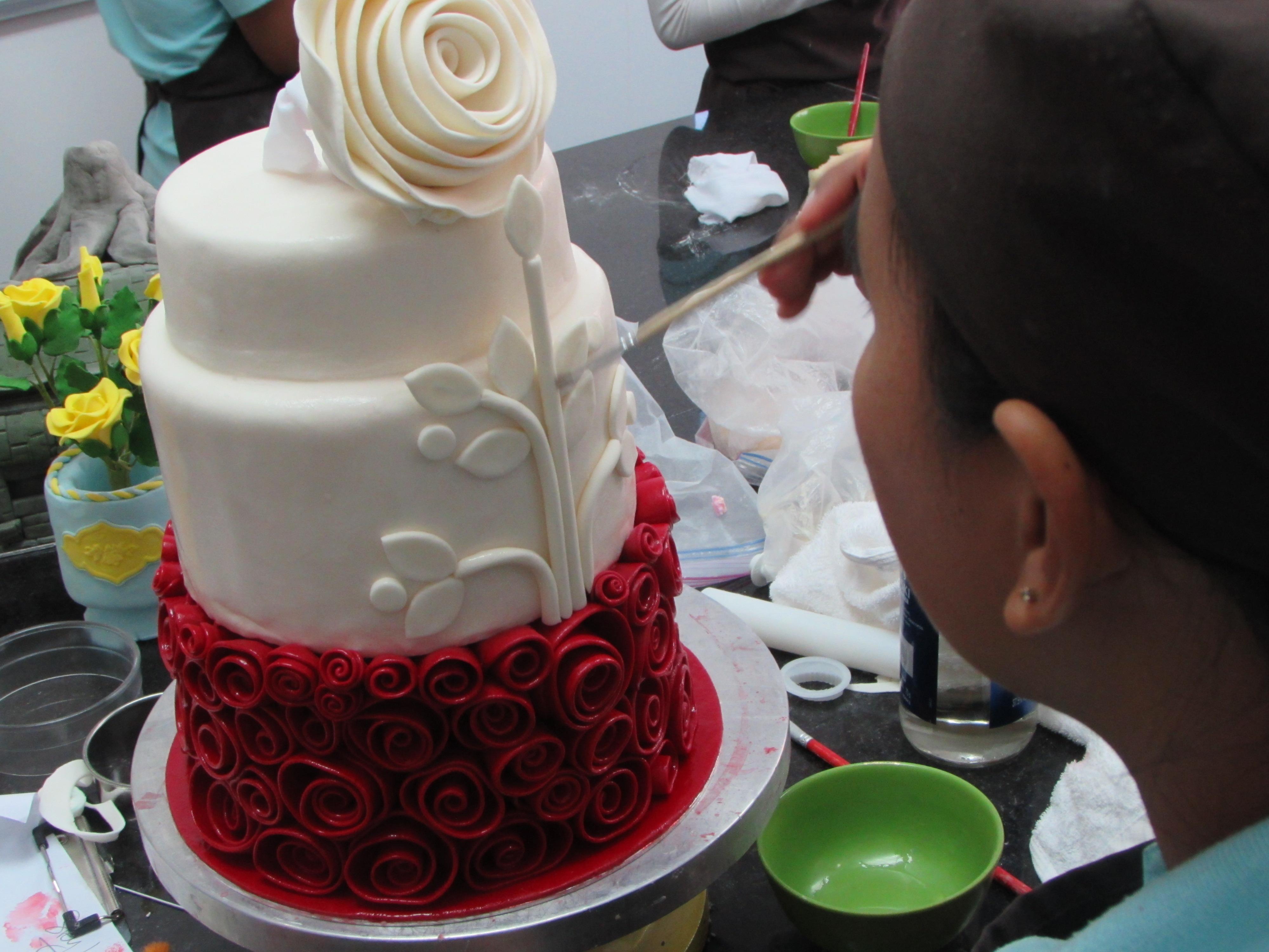 Training Rose Cake