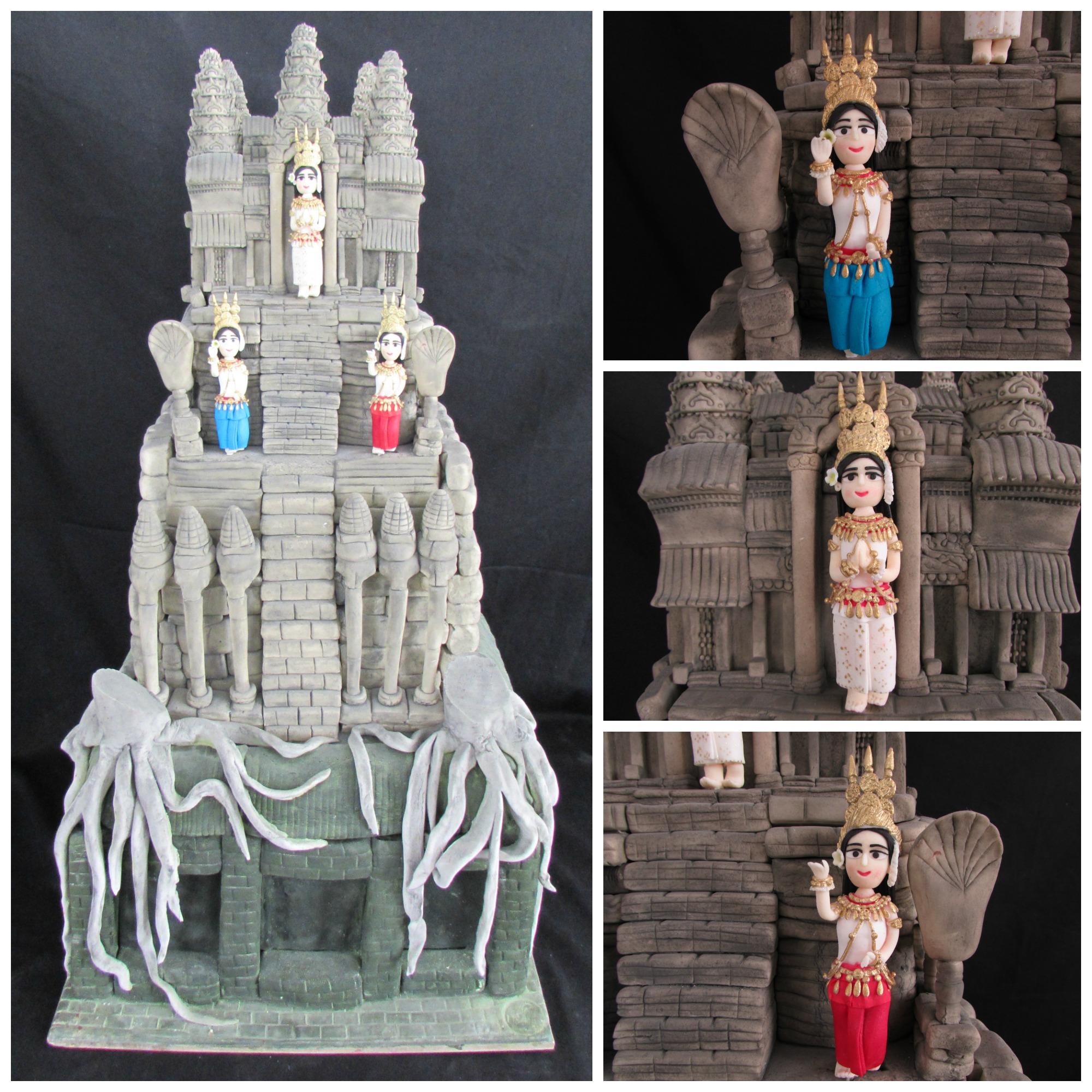 the sugar Angkor Wat