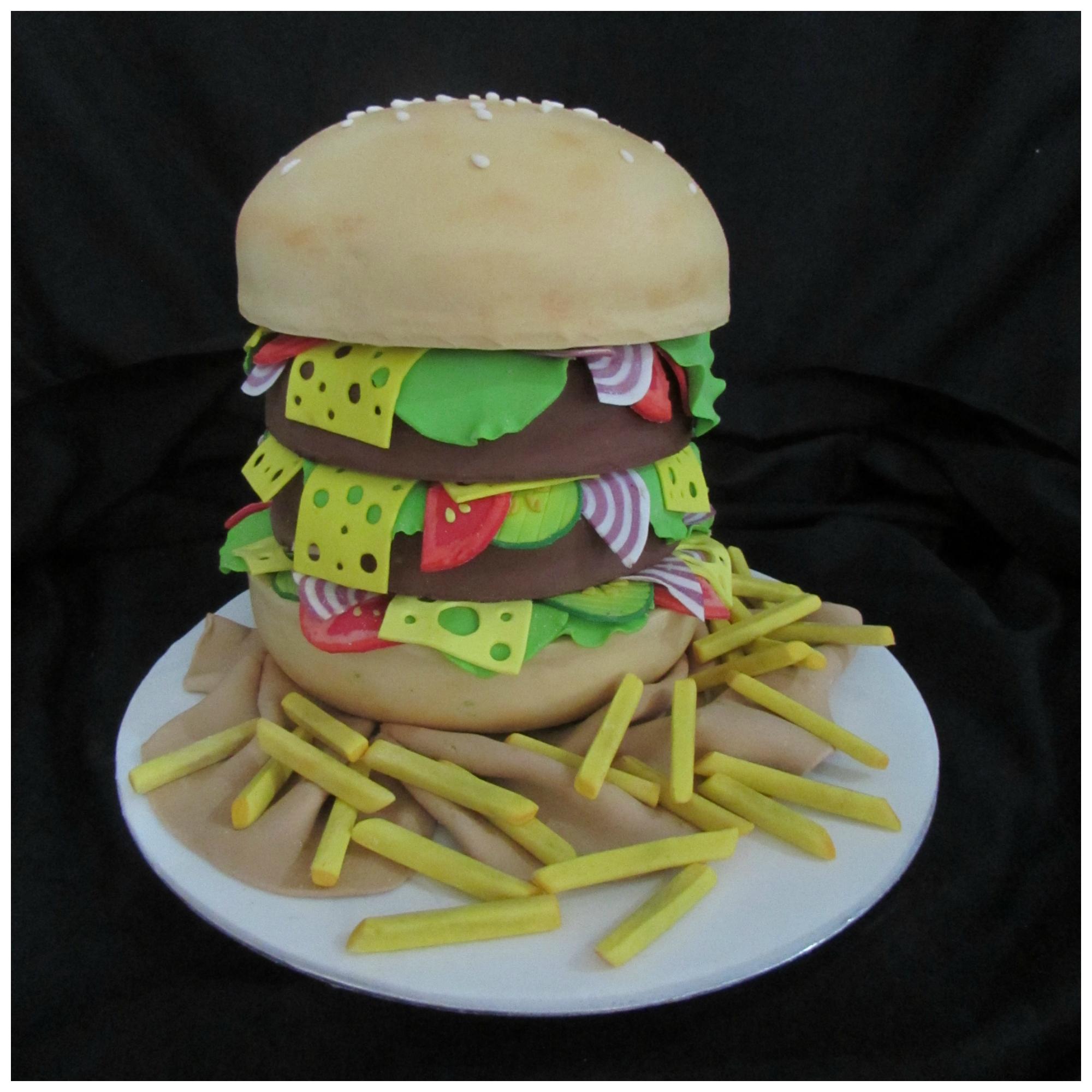 The Hamburger Cake