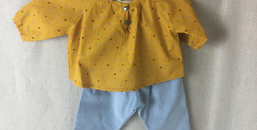 Ensemble pantalon/ chemise