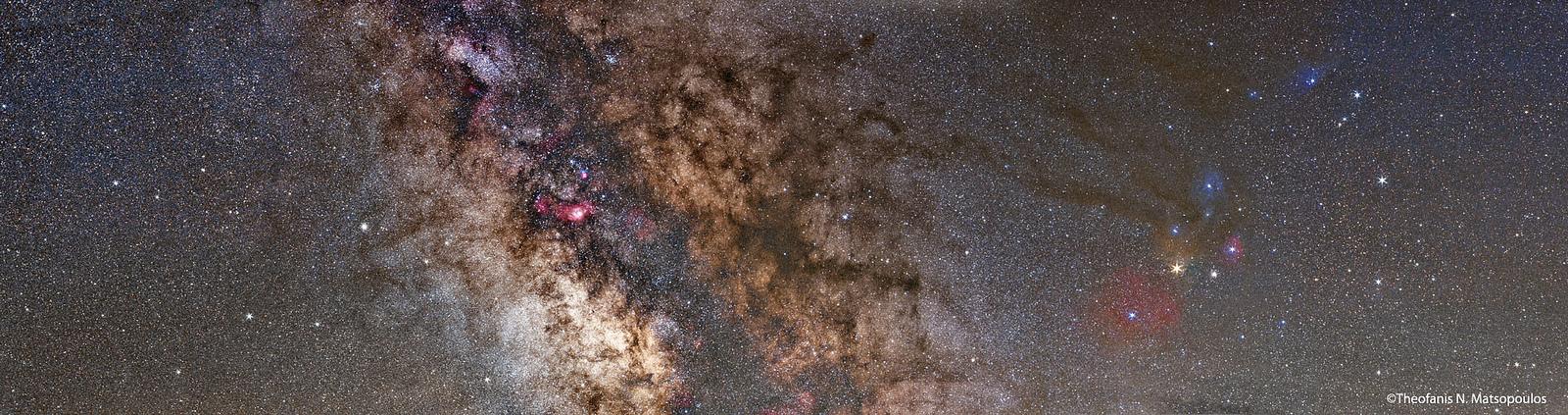 Scorpius Sagittarius Mosaic by Theofanis