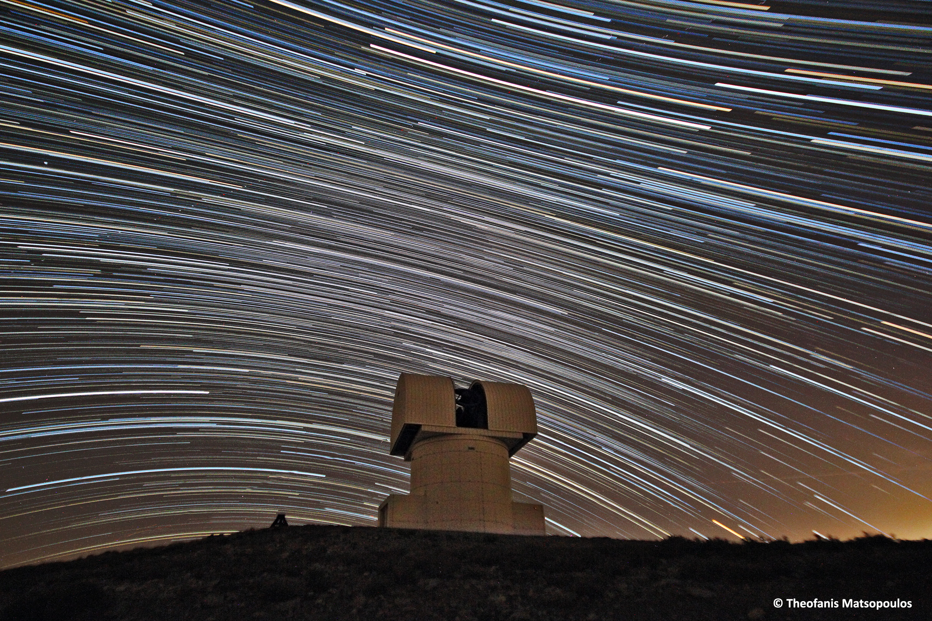 Aristarchos Dome Startrails