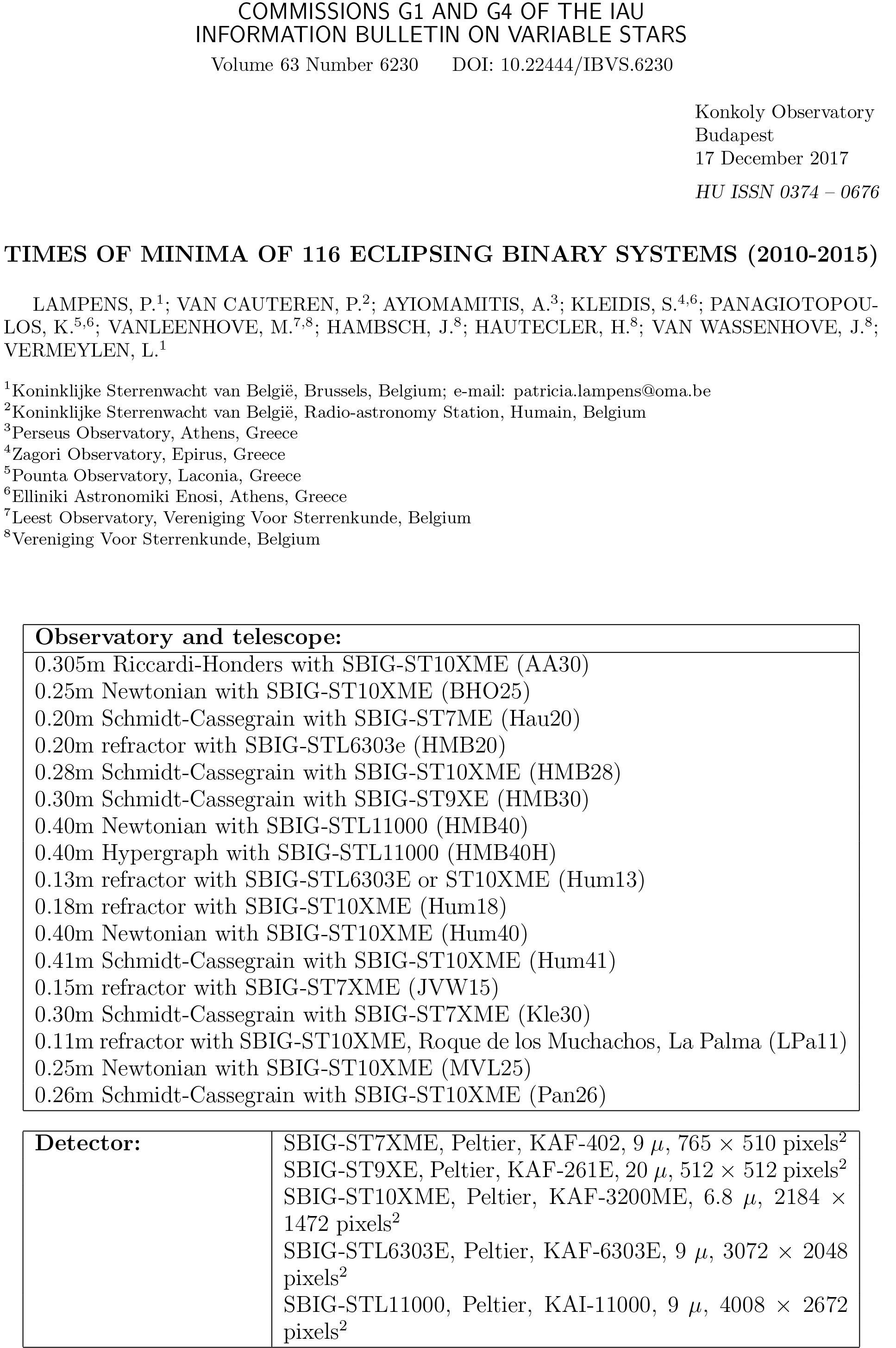 Times_of_Minima_of_116_Eclipsing_Binary_