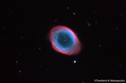 The Ring Nebula (M57) - Newall Refractor by Theofanis Matsopoulos