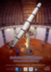 Newall telescope documentary show poster