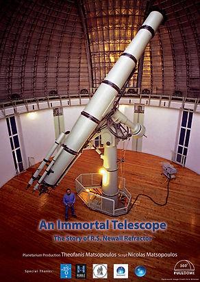 Newall telescope documentary show poster