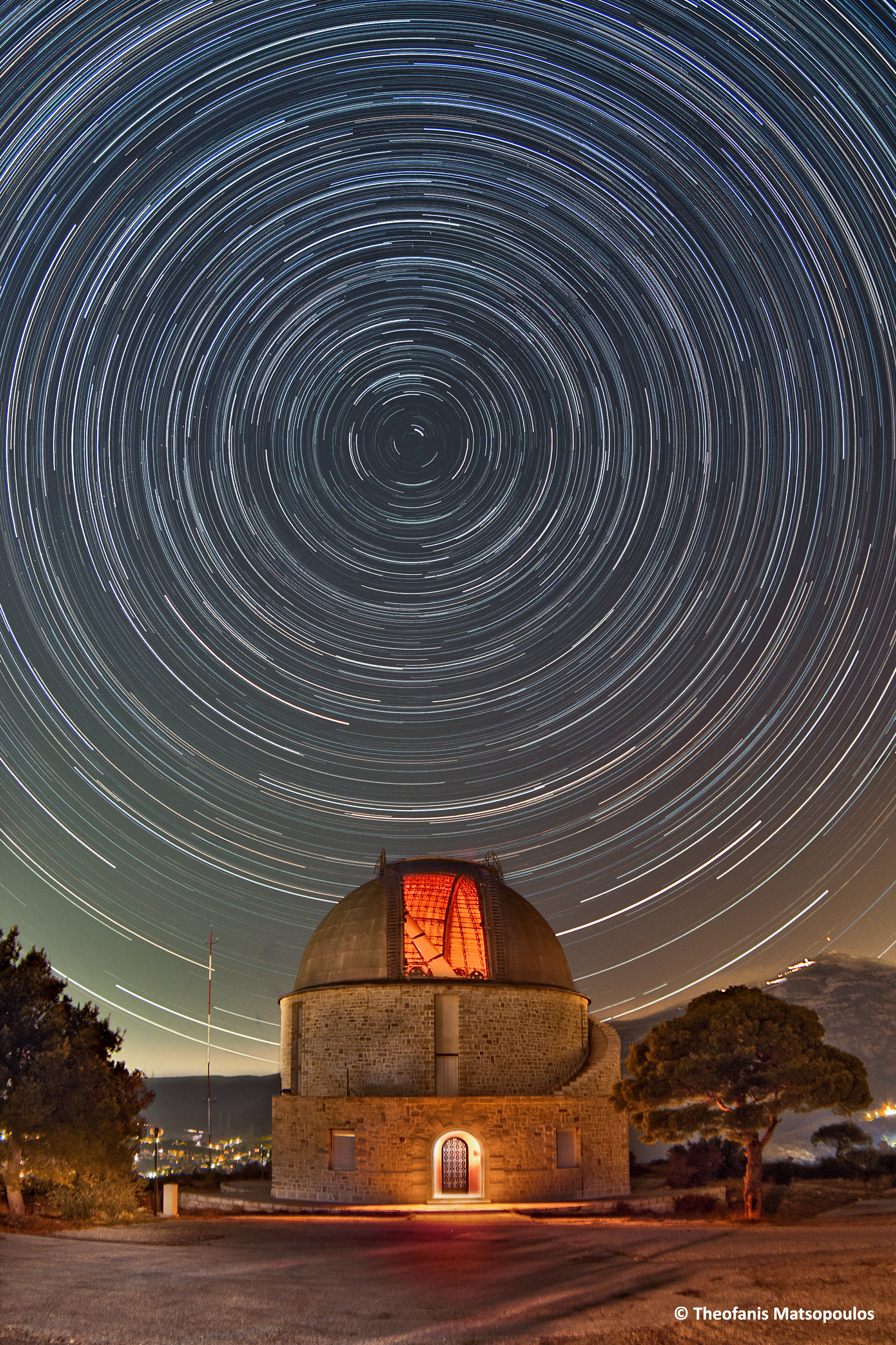 Newall Dome Startrails