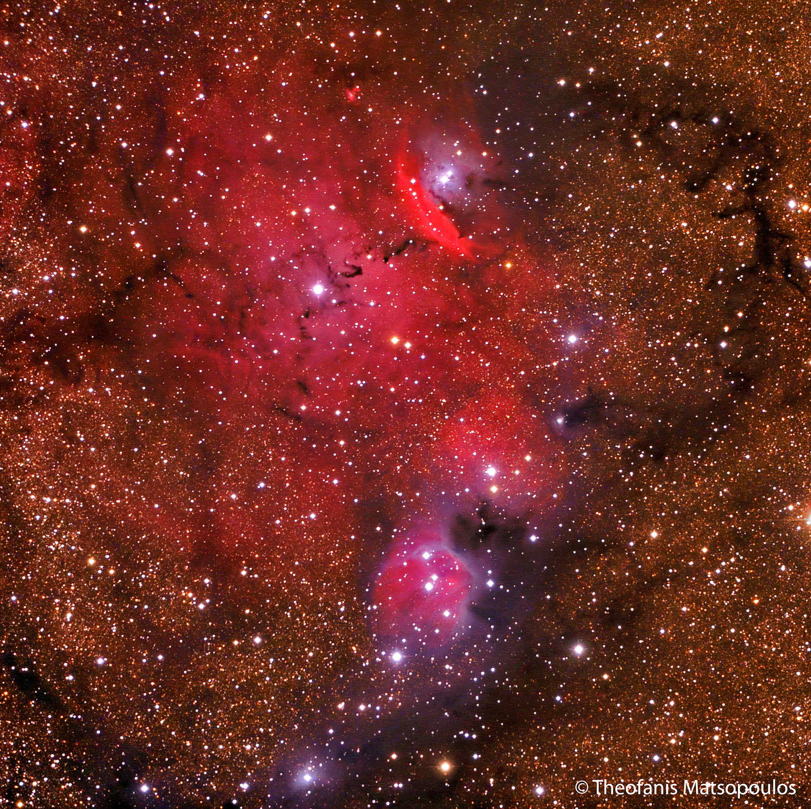 NGC6559 by Theofanis Matsopoulos