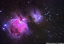 Great Orion Nebula by Theofanis Matsopoulos