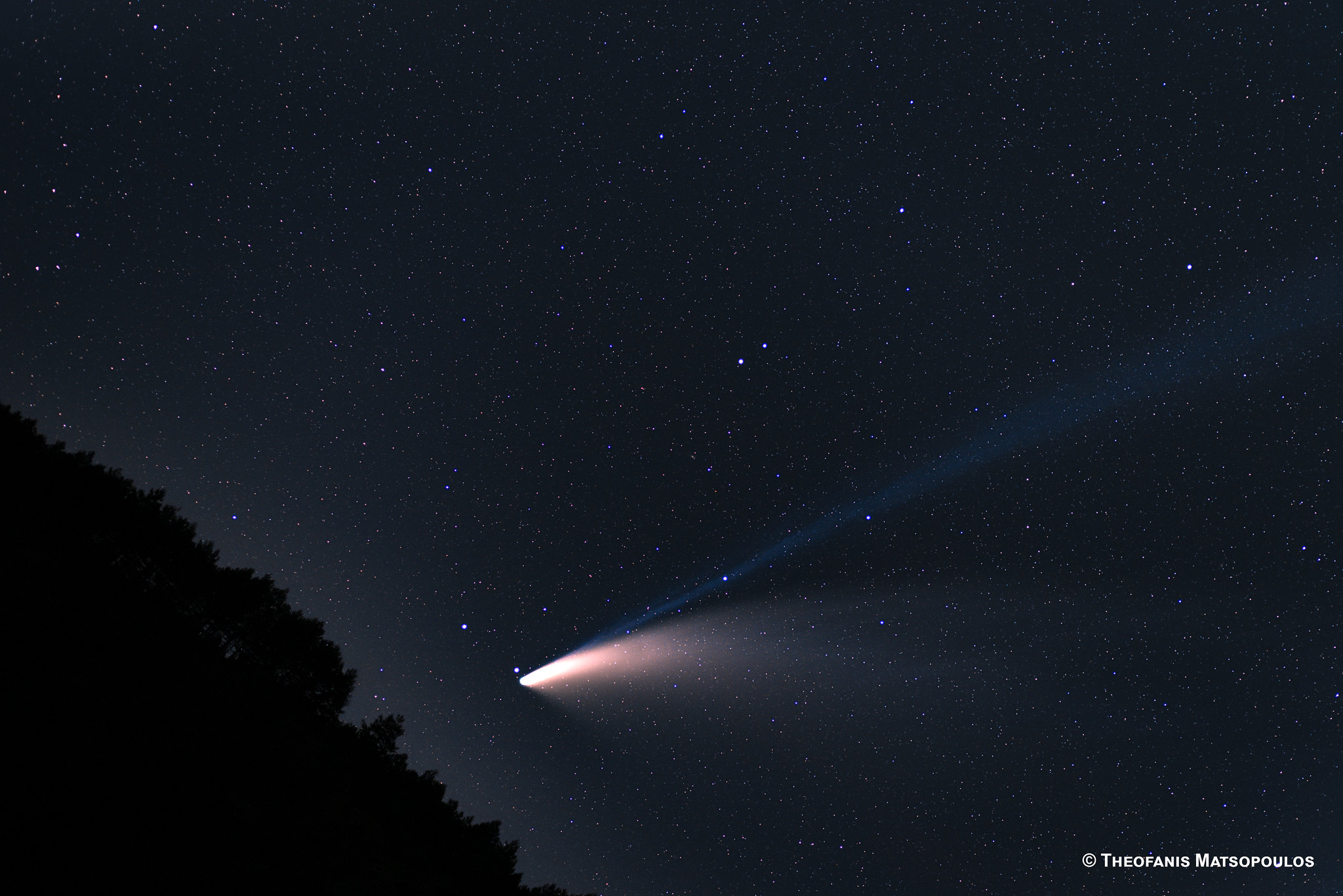 Comet NEOWISE Matsopoulos